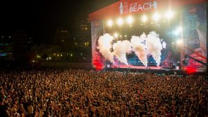 Coca Cola Music Experience On The Beach